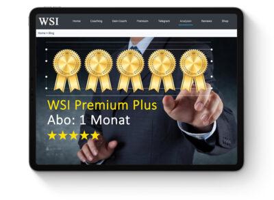 WSI Premium Plus Abonnement