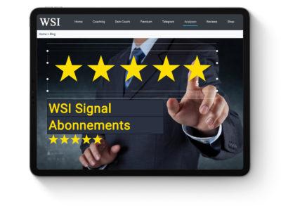 WSI Signal Abonnements