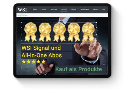 WSI Signal- und All-in-One Produkte